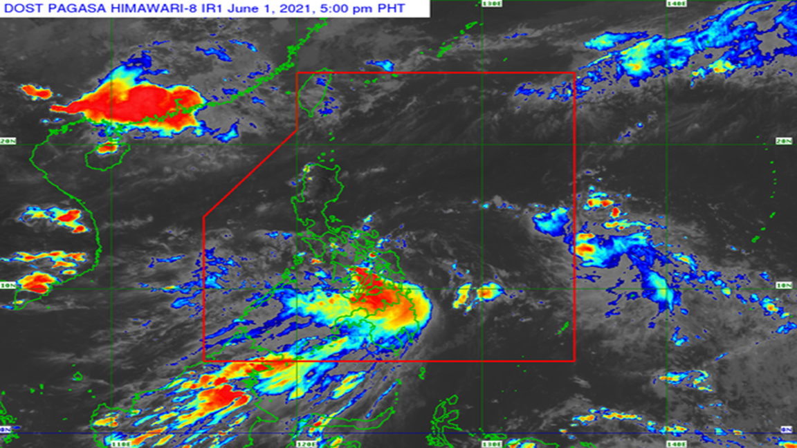 Typhoon Dante As of 5:00 PM