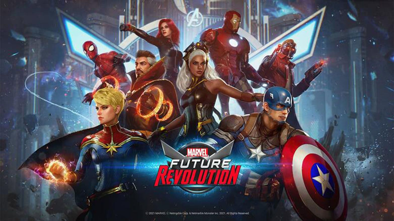 Marvel Future Revolution now open for pre-registration; officially launches next month  photo from Marvel