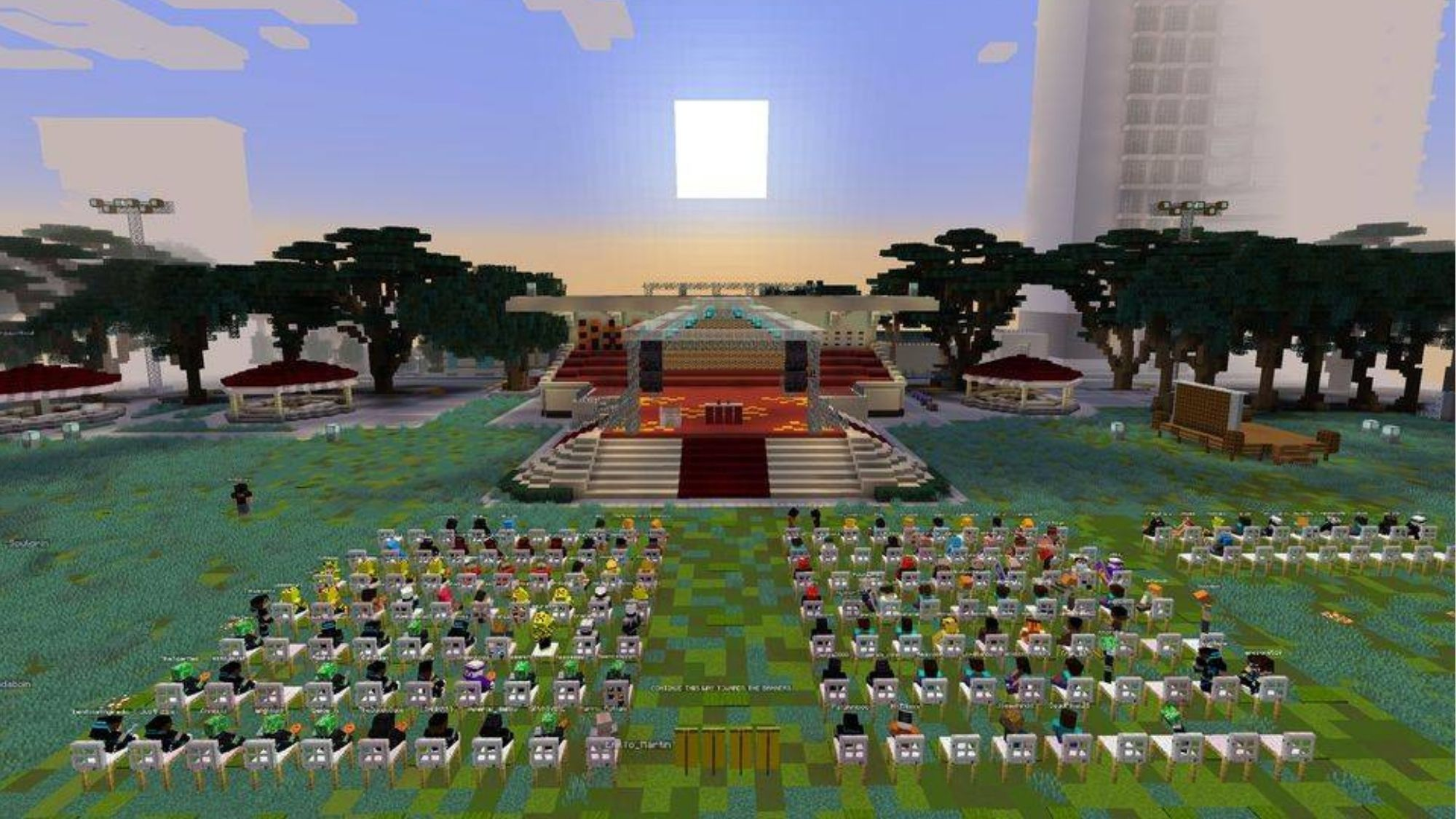 A different kind of commencement rites; UST graduates march virtually on Minecraft photo from Manila Bulletin