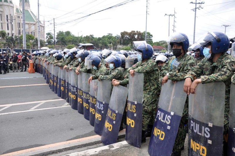 82 pulis QC, nagpositibo sa Covid-19 photo from News Patrol