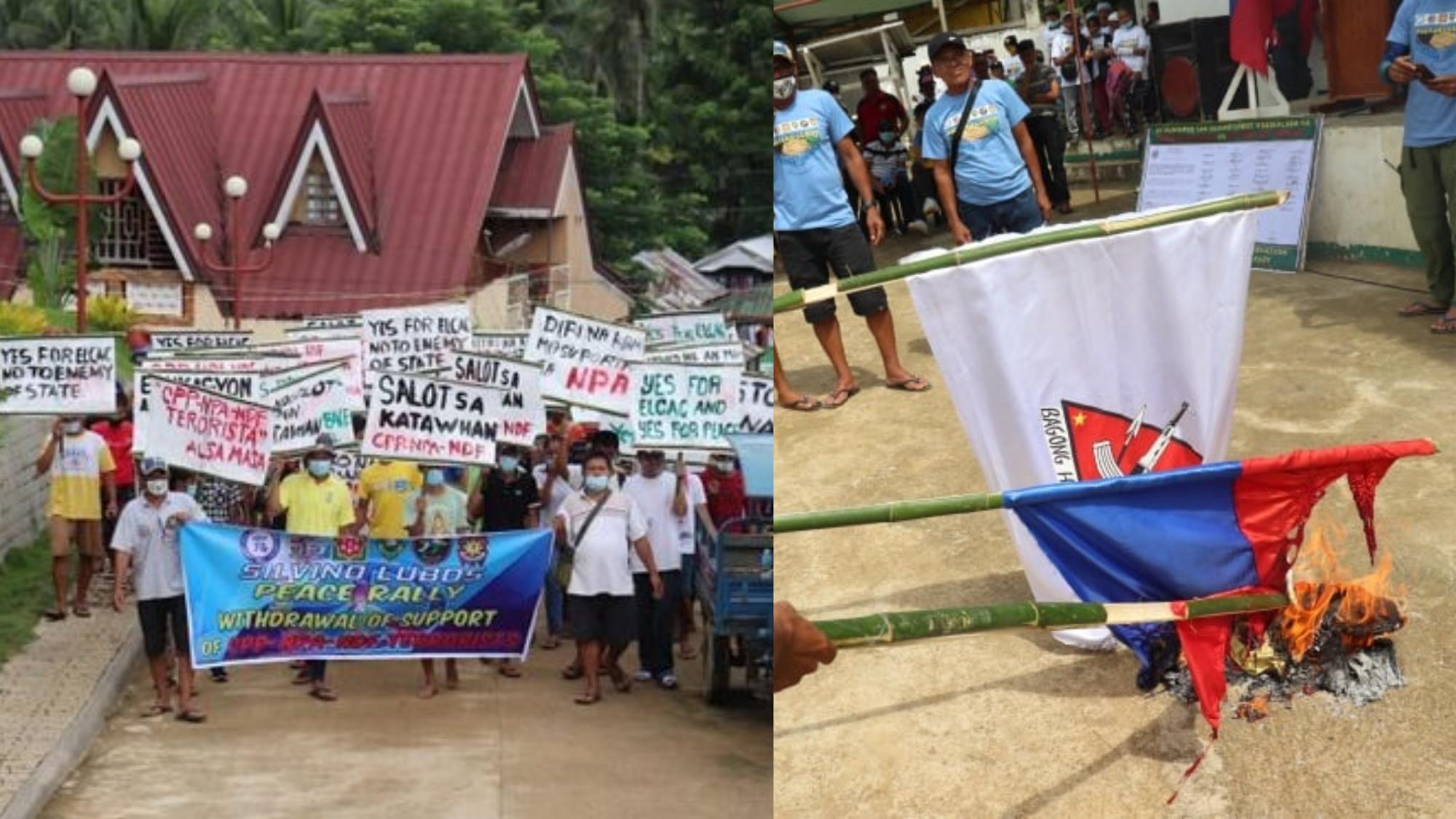 Fruit of NTF- ELCAC Almost 300 rebels surrender to authorities in N. Samar