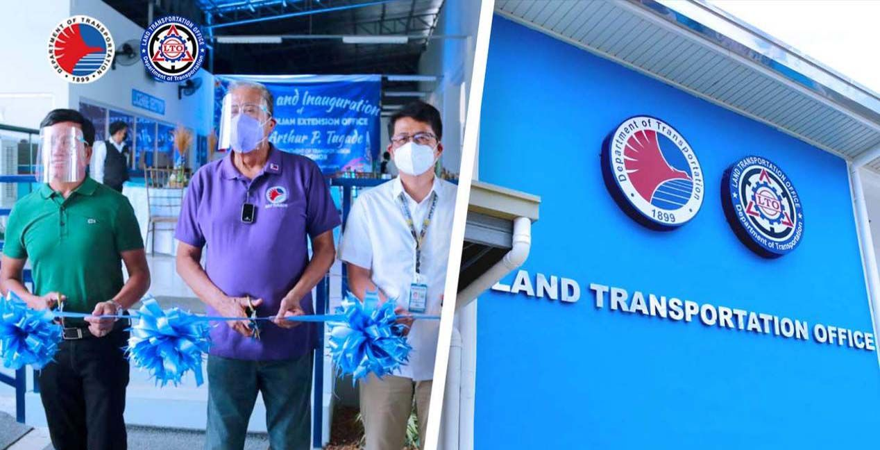 LTO opens extension office in Pagsanjan photo from Art Tugade