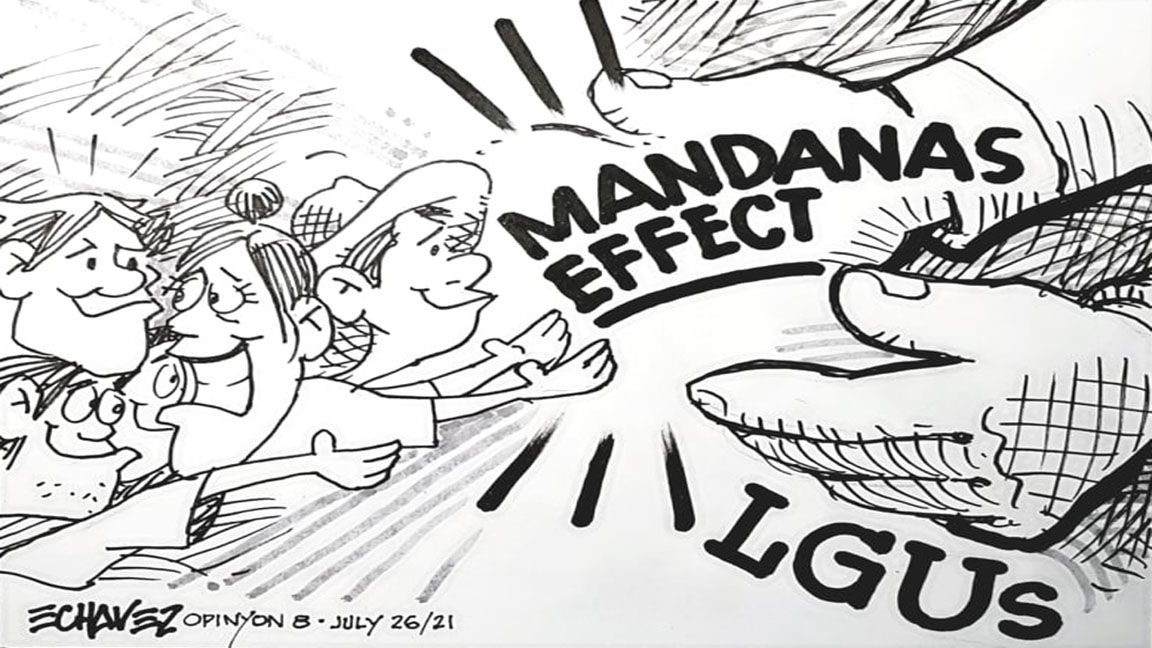 The LGUs and the Mandanas Effect