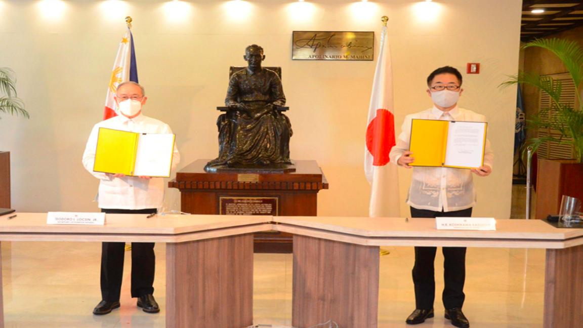 PH, Japan ink P115.6-B add'l funding for Metro Manila Subway Photo from PNA