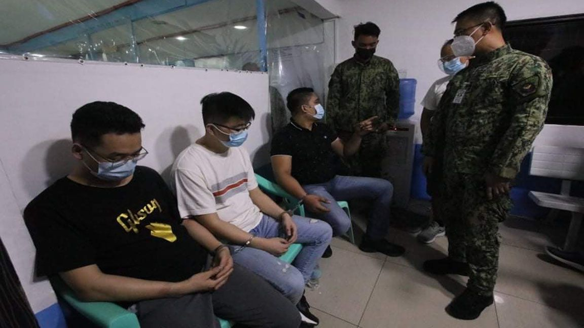 CHINESE NATIONALS NABBED FOR KIDNAPPING photo by Mike Taboy