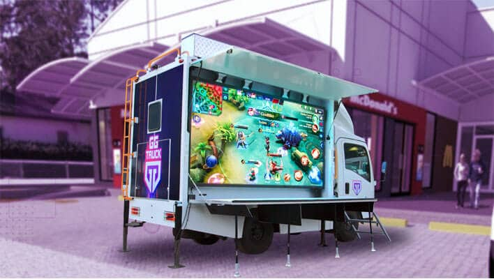 GG Company Inc. launches Southeast Asia's first pop-up gaming truck