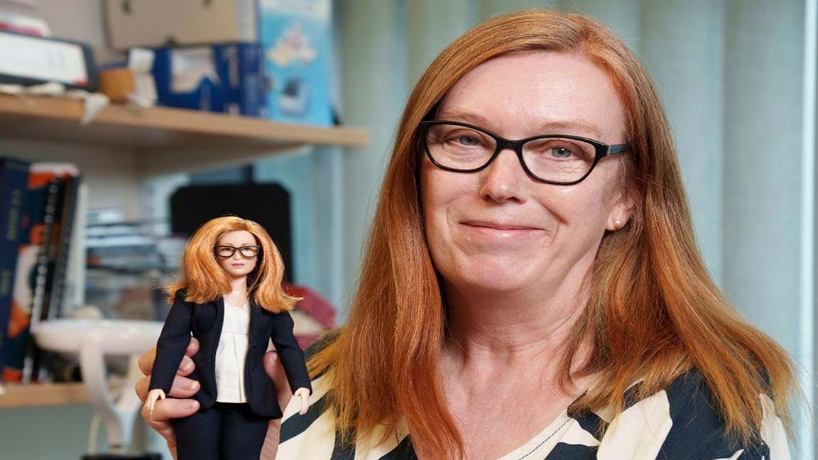 Covid-19 vaccine creator gets her own Barbie photo from WalesOnline