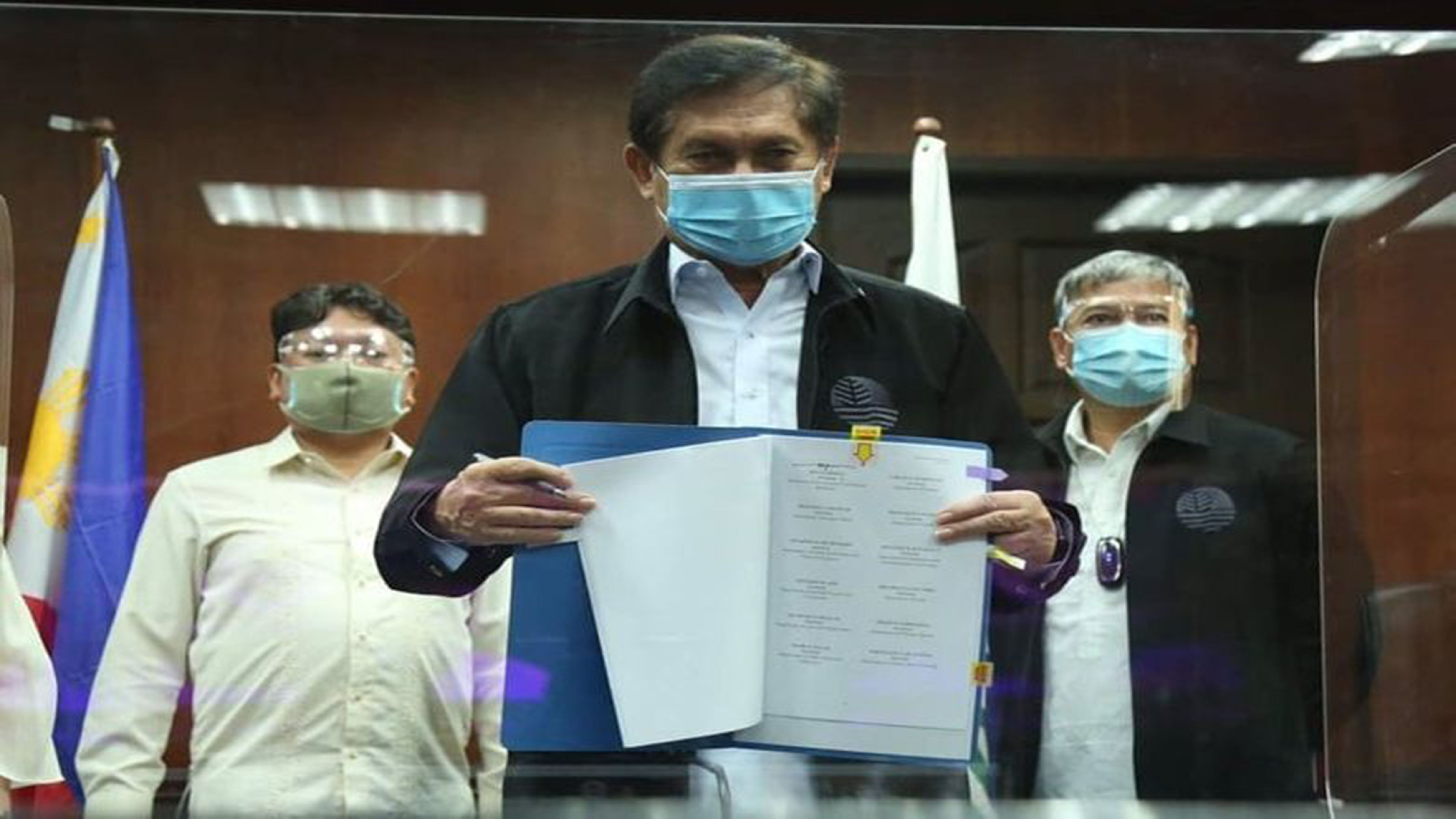 Cimatu lauds launch of PACC-led nat'l anti-corruption program photo from Leader News Philippines