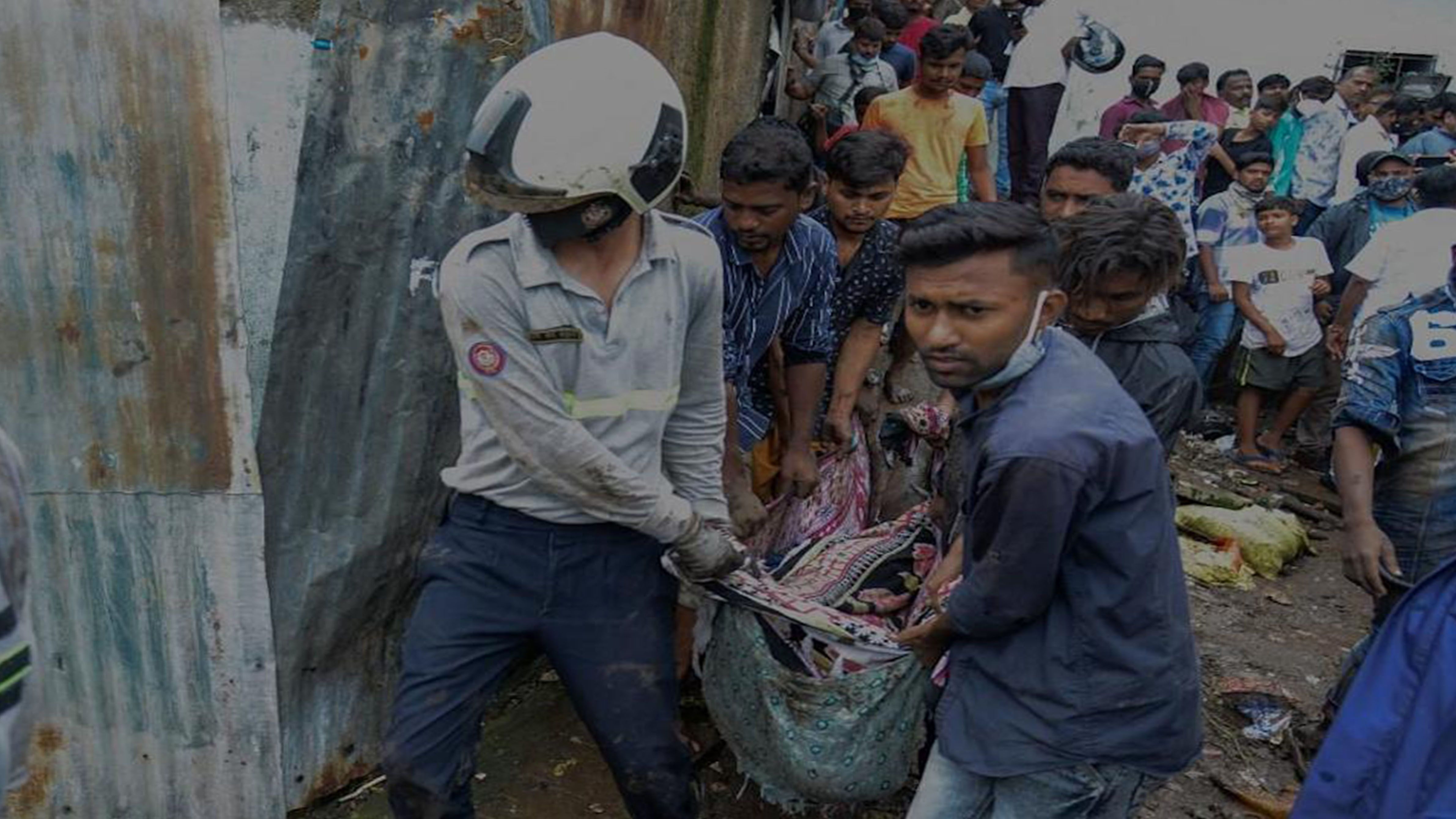 Rescuers hunt for survivors as monsoon toll hits 76 in India photo from Yahoo News