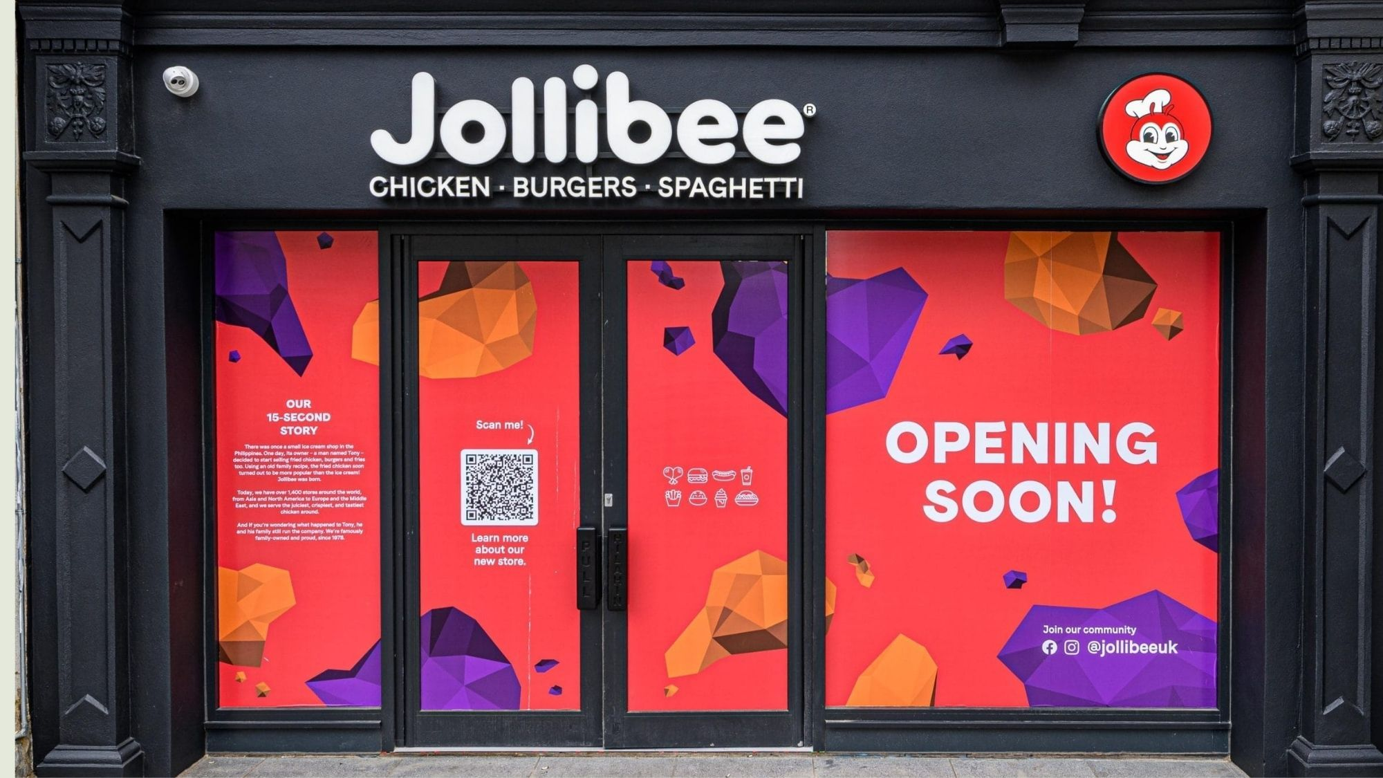 Jollibee comes to London West End this May