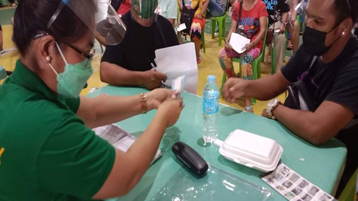 BEATING CASH AID DISTRIBUTION DEADLINE photo from Mike Taboy