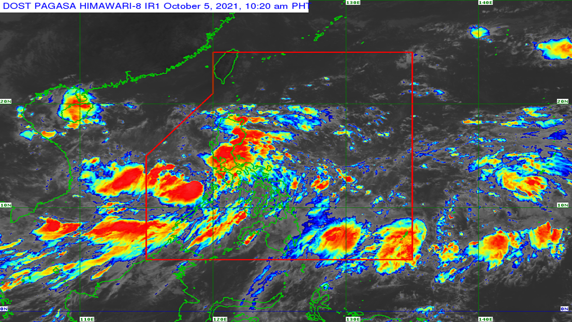 Pagasa Lannie now over West PH Sea photo Dost_pagasa