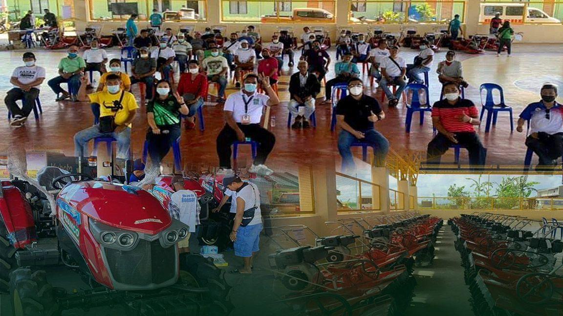 230 farmers' cooperative, nabigyan ng tulong  photo from DA RFO 4-A