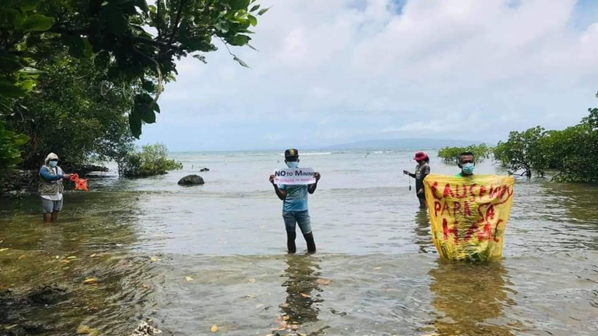 Island villagers in Samar rise up against mining interests