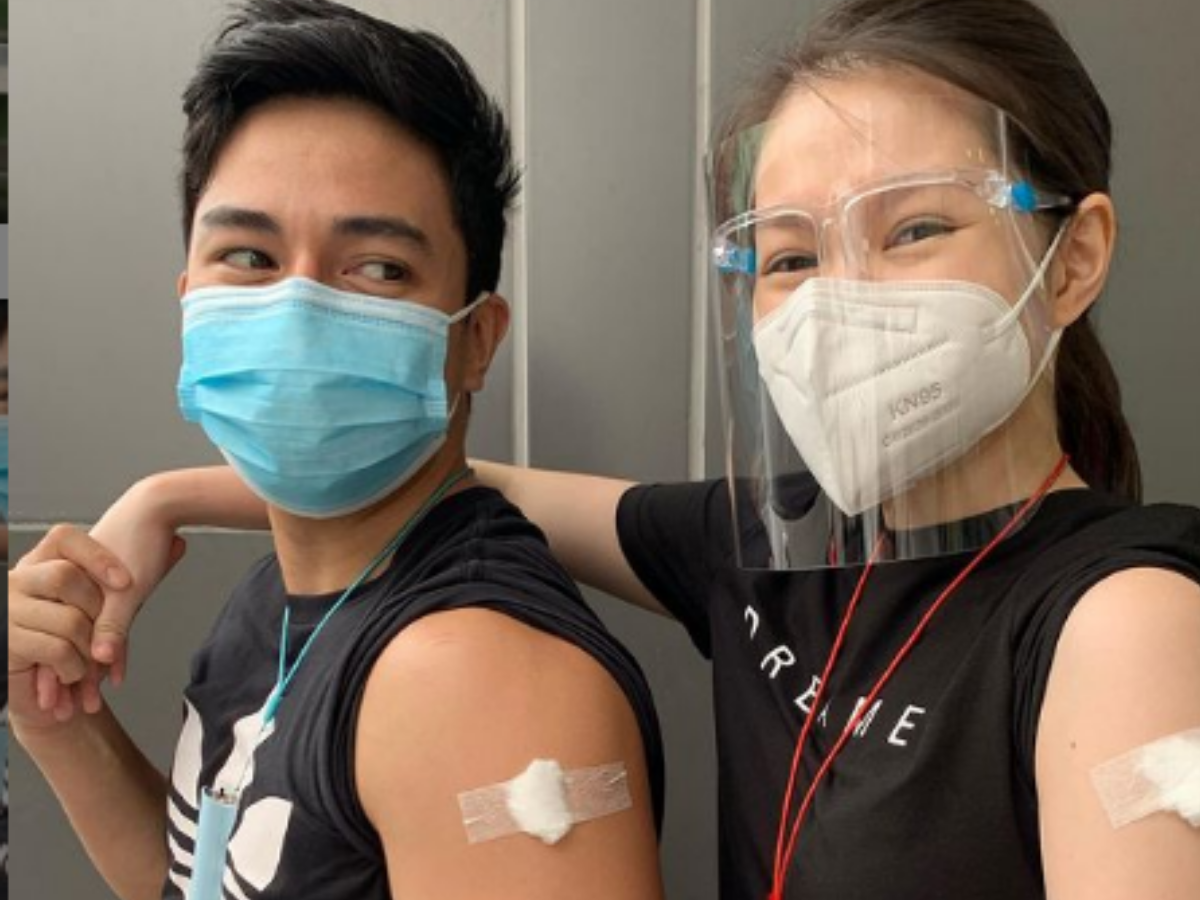 Jak Roberto and Barbie Forteza fully vaccinated