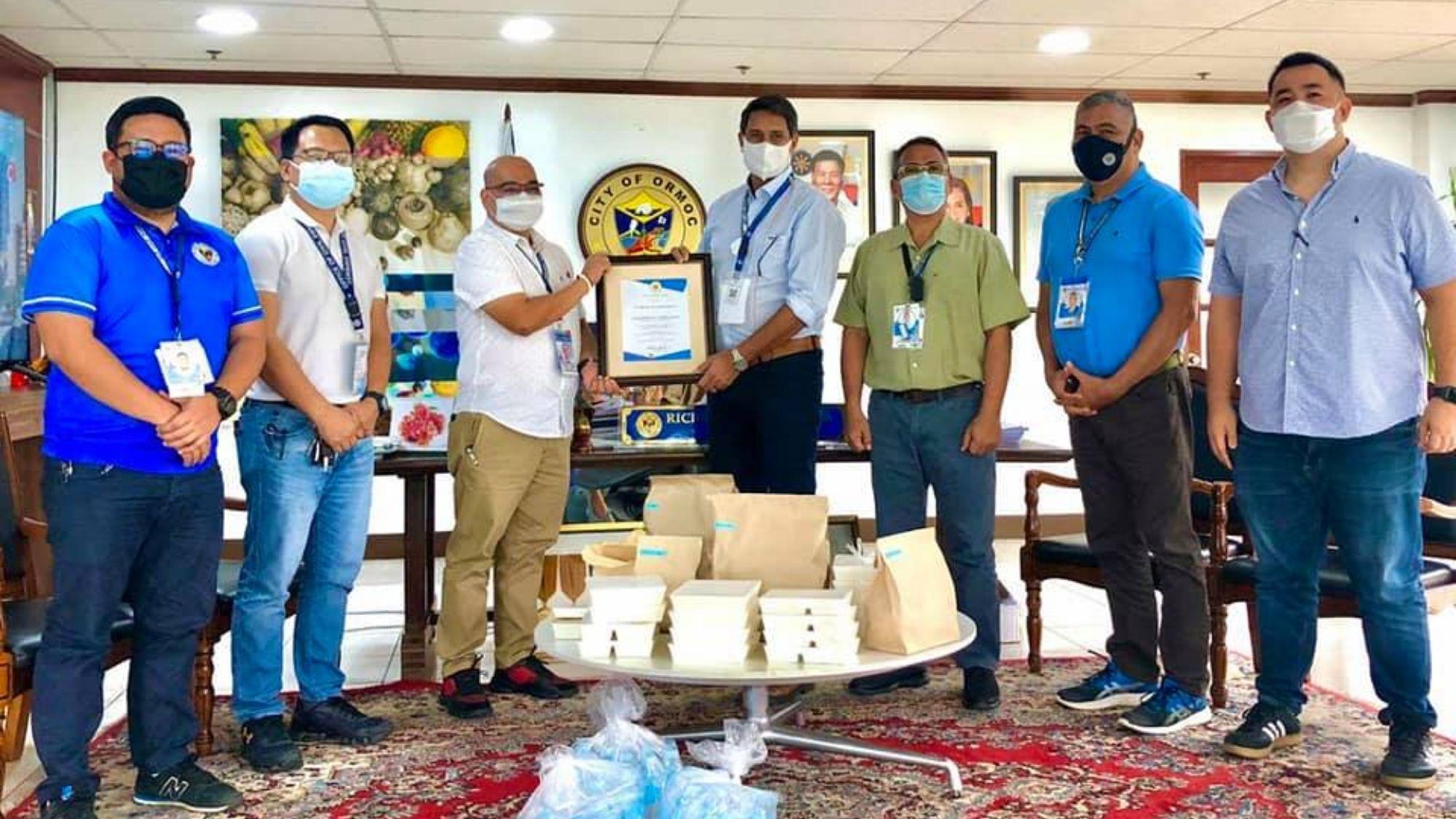 Eastern Visayas medical frontliners get free meals