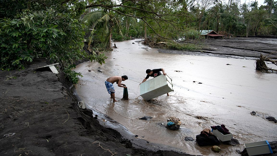Ten recent climate-fueled disasters photo Scientific American