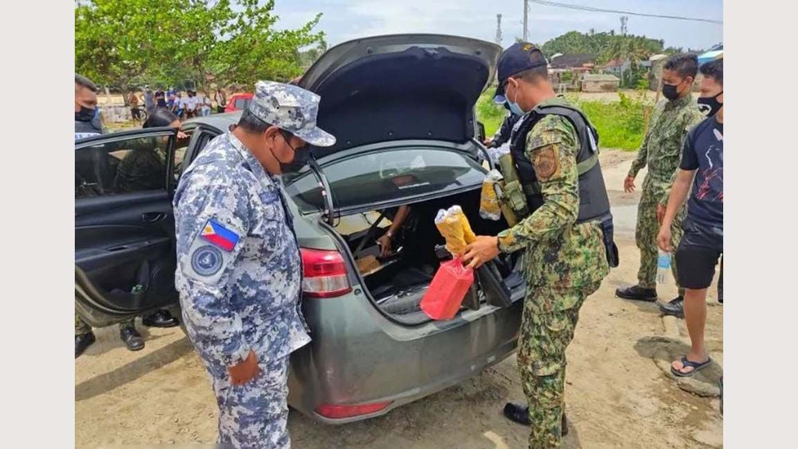 Gotcha Gunrunning ring members supplying firearms to terror groups Abu Sayyaf, BIFF busted in N. Samar photo from Opinyon 8