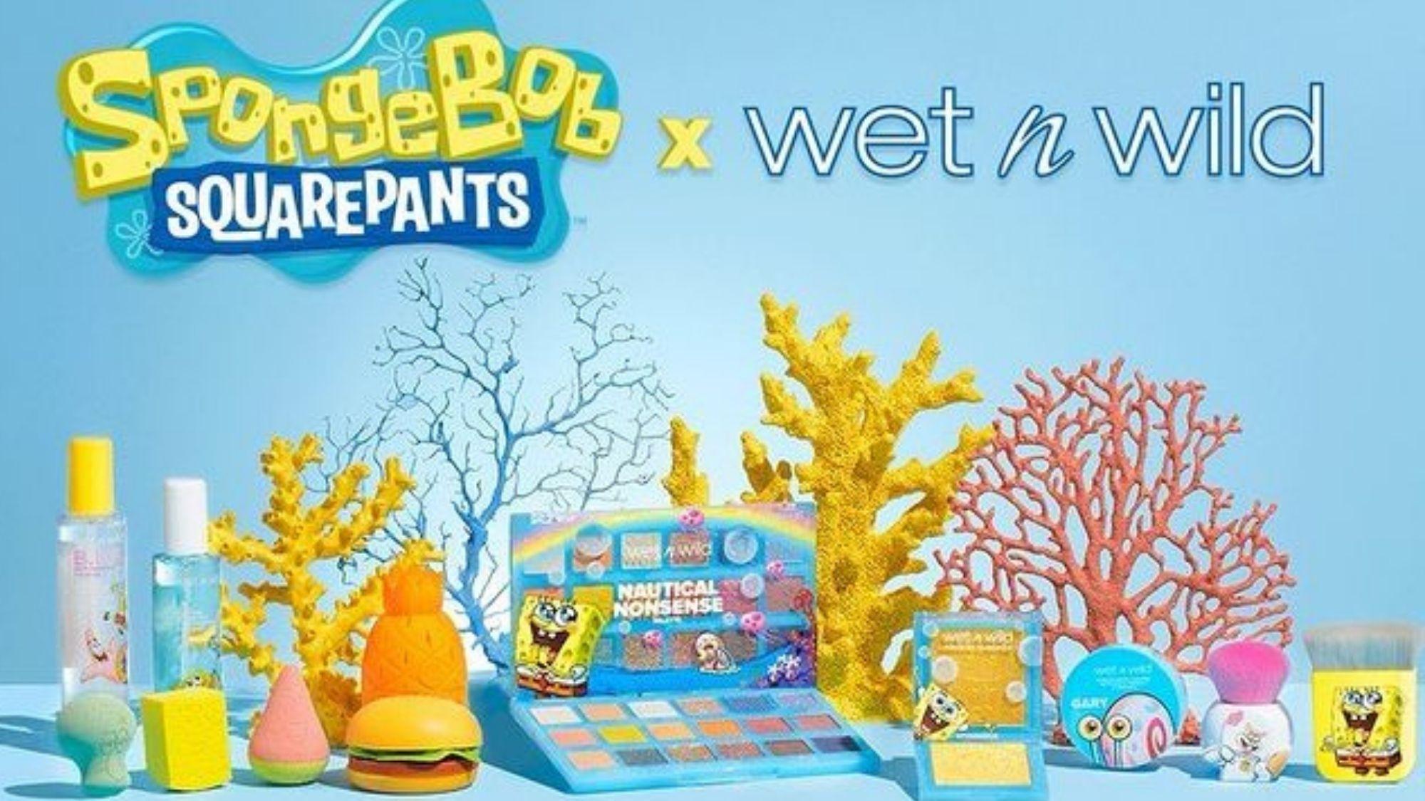 Wet n Wild is teaming up with SpongeBob Squarepants