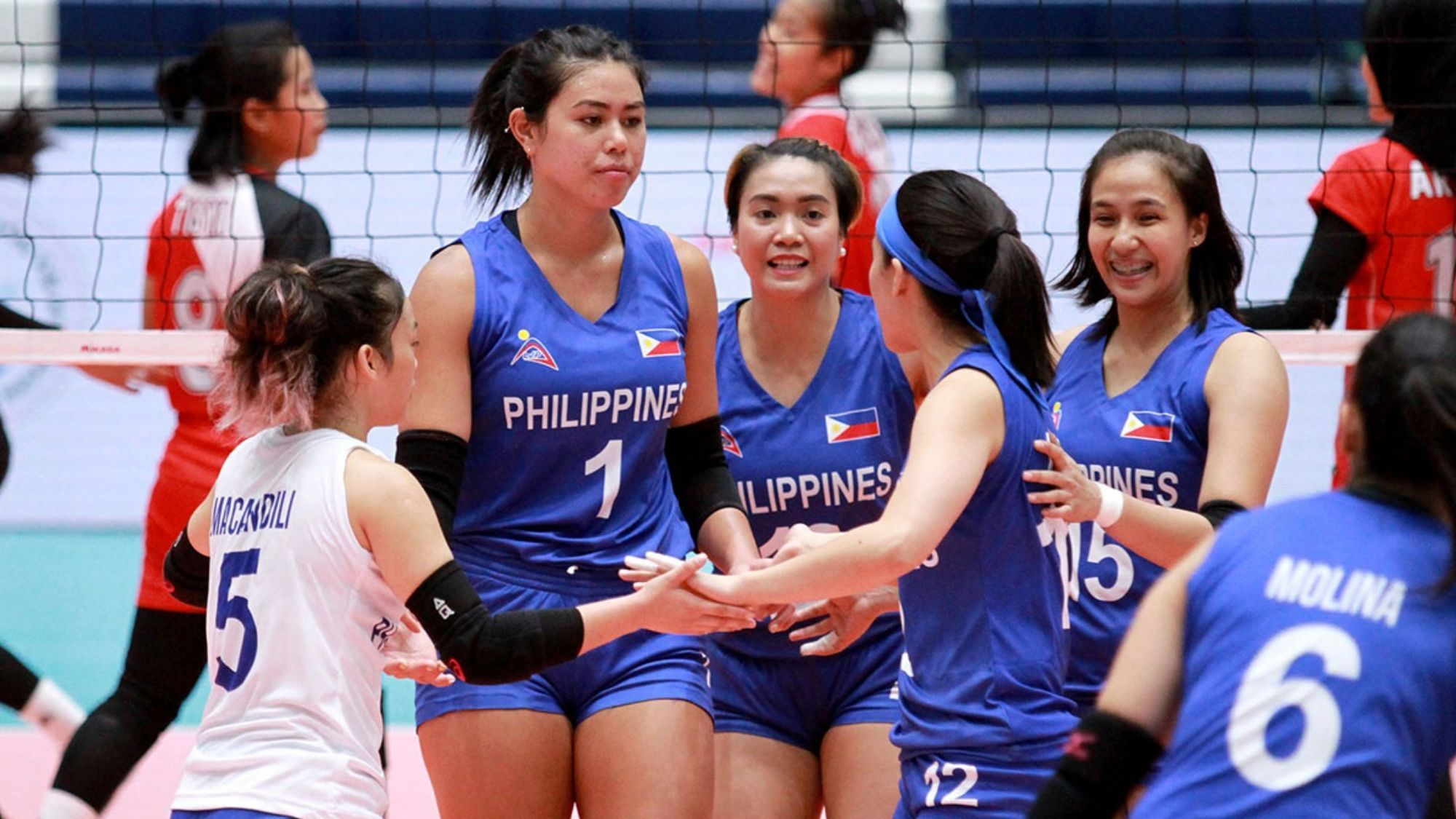 PNVF announces lineup of PH women's volleyball team