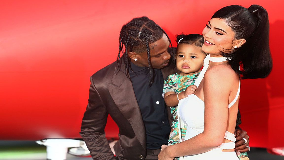 Kylie Jenner and Travis Scott expecting second baby photo Elle