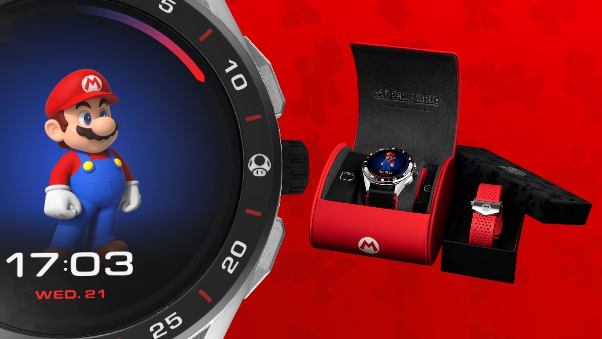 Super Mario-themed luxury smartwatch sells out pre-orders edited by Opinyon