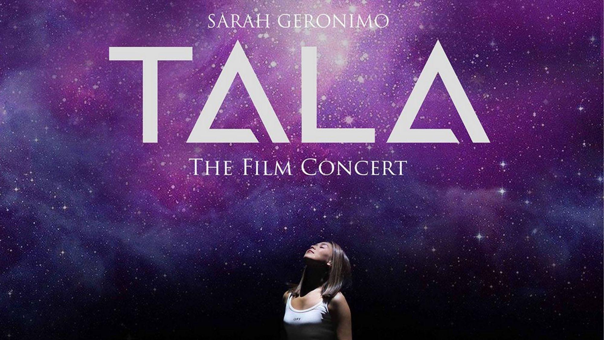 "Sarah Geronimo's ""Tala"" digital concert adds two more screening dates"