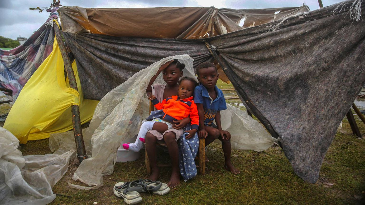 Survivors of Haiti struggle to cope, cry for help  photo from Flipboard