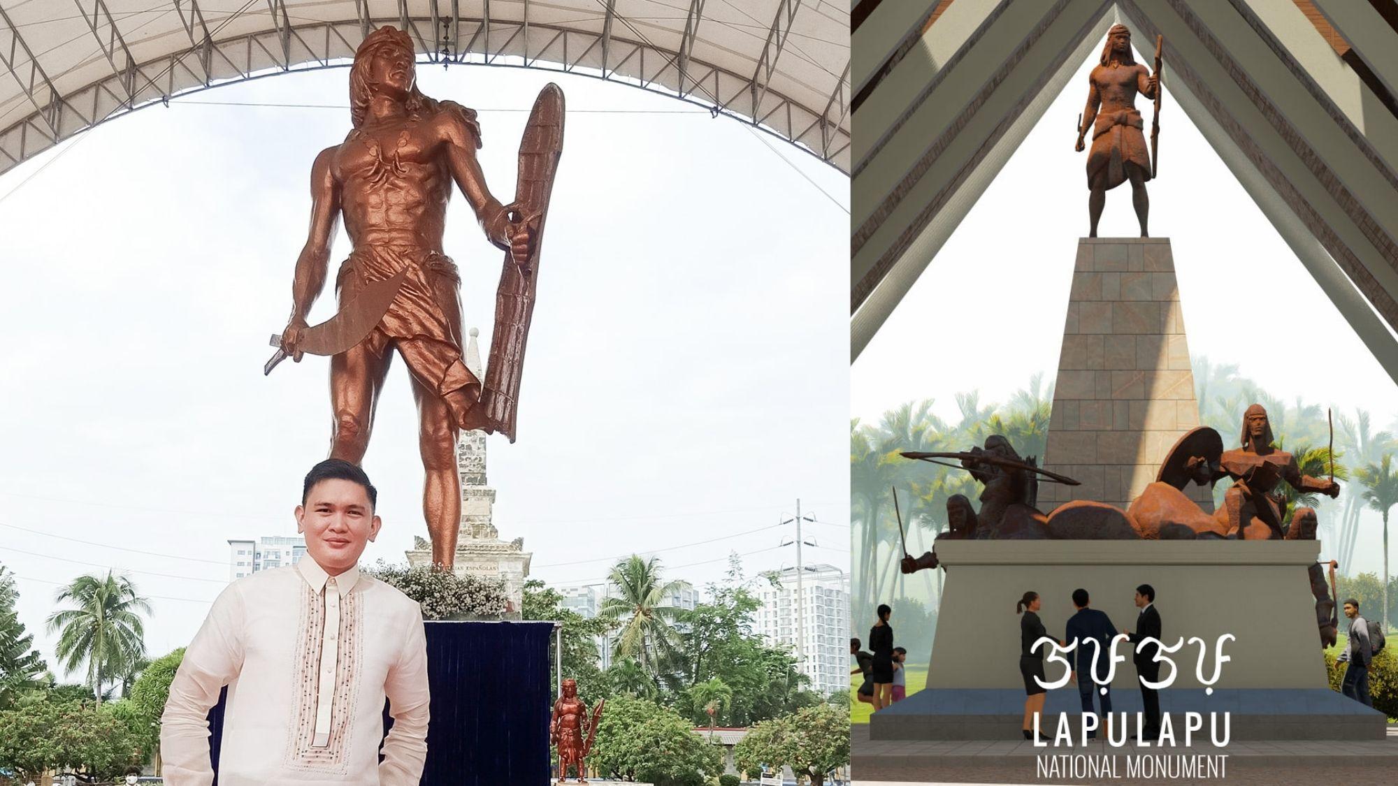 New Lapu-Lapu monument pays tribute to the hero's bravery and leadership