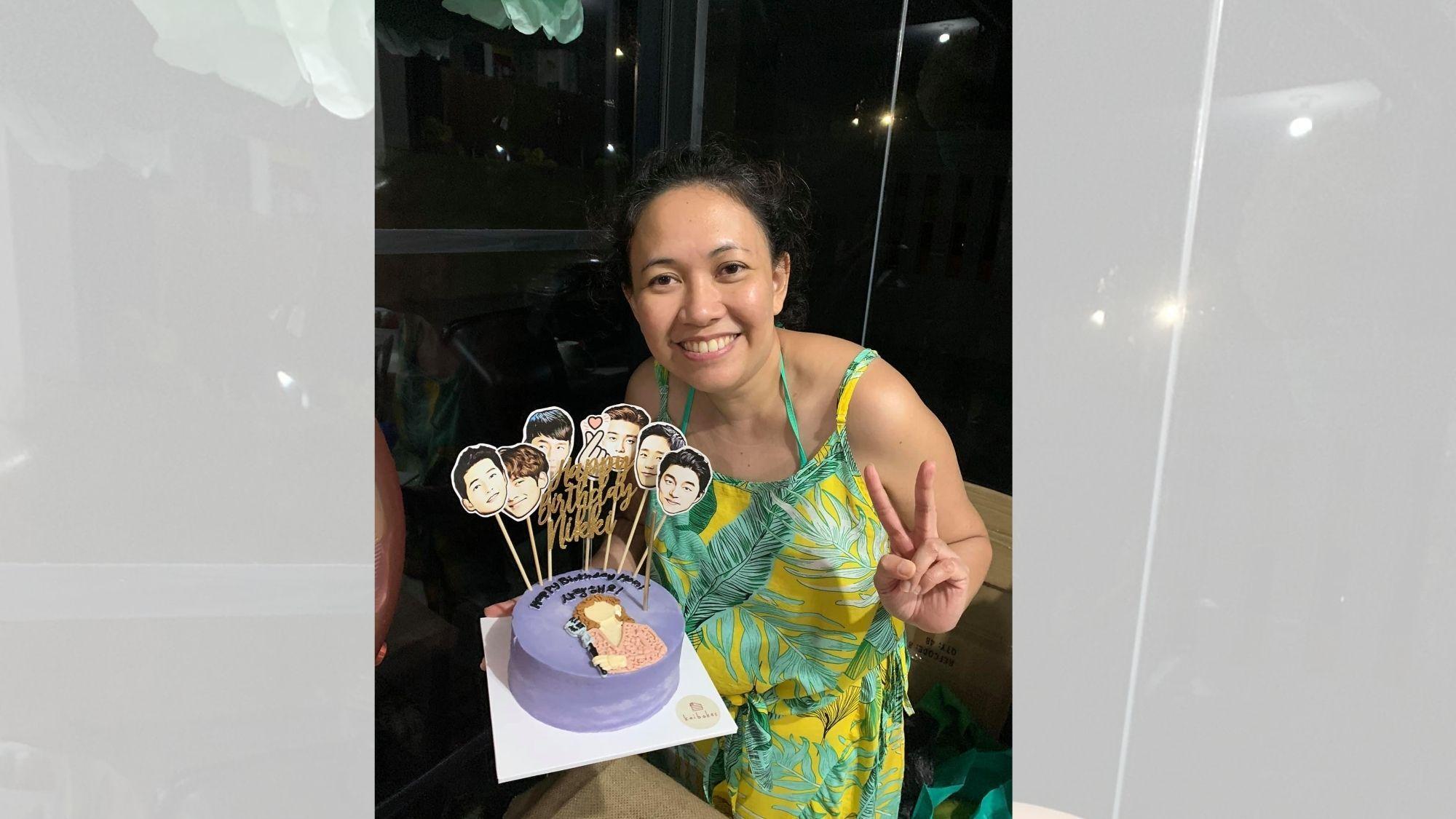 Singer and music mentor Nikki Junia of San Pedro celebrates natal day with virtual K-pop idols