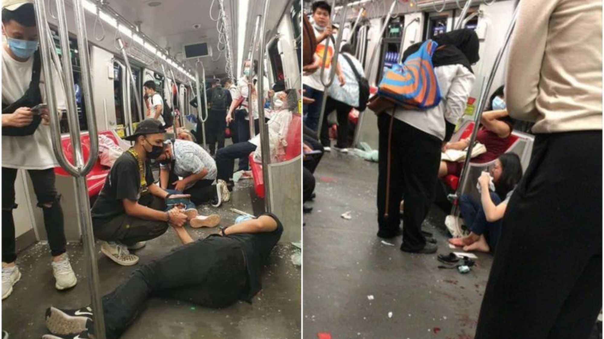 Hundreds injured after trains collide in Kuala Lumpur