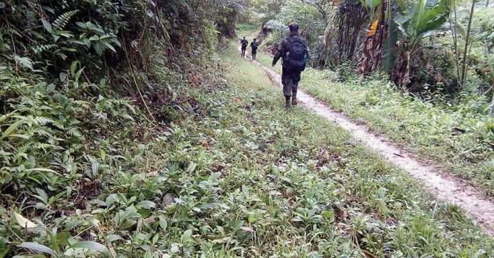 2 NPA leaders, soldier killed in S. Leyte photo from PNA