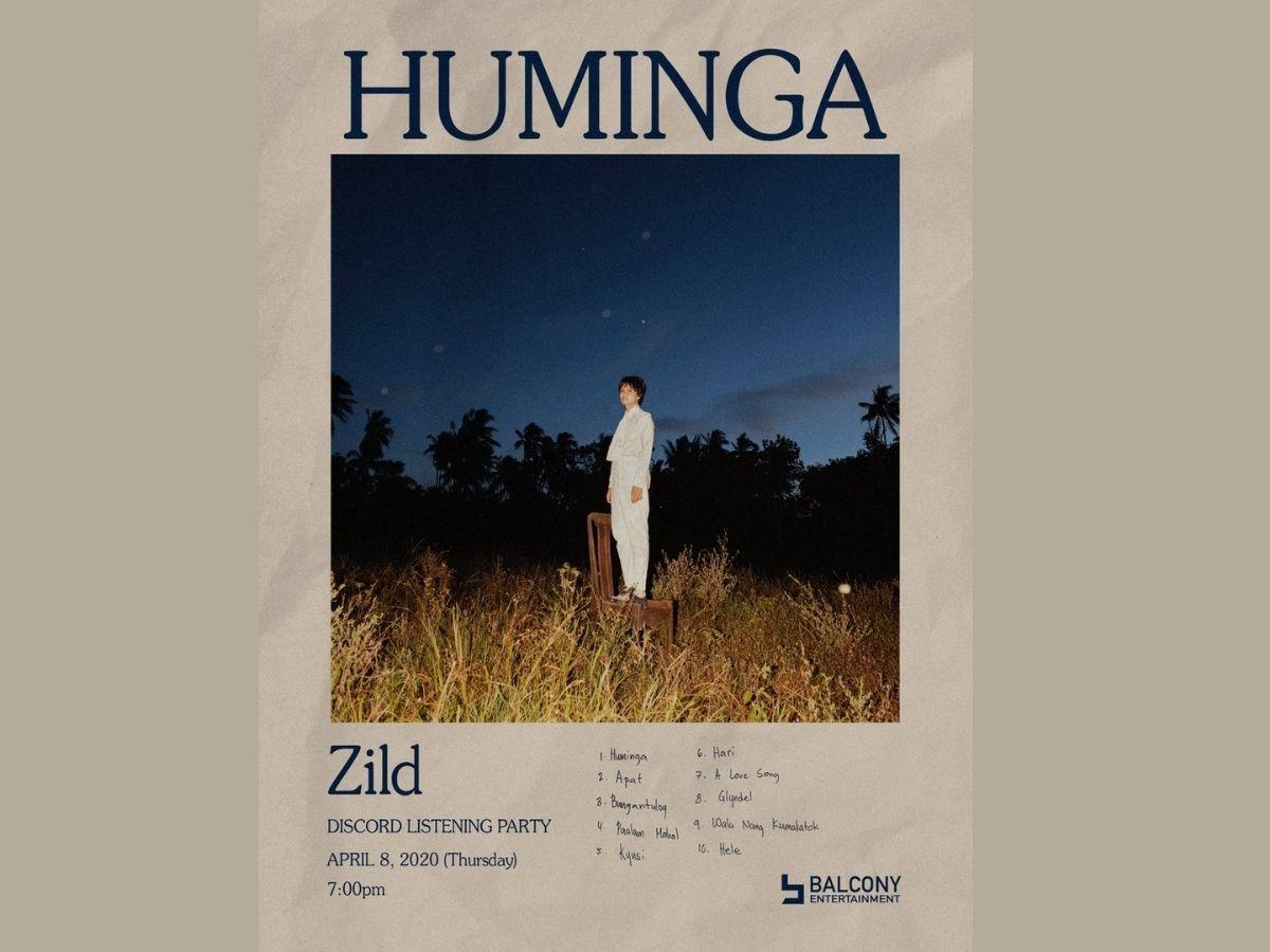 Zild's second solo album 'Huminga'