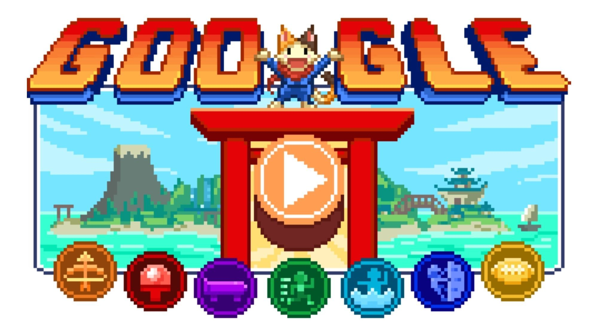 Google launches biggest interactive doodle for Tokyo Olympics photo by Google