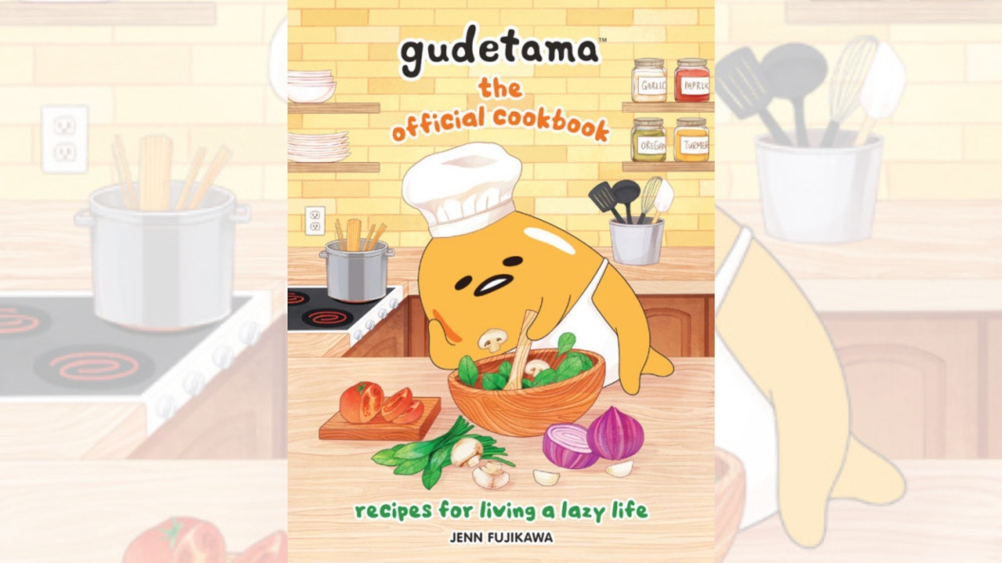 Gudetama's Official Cookbook 'for the lazy' out soon