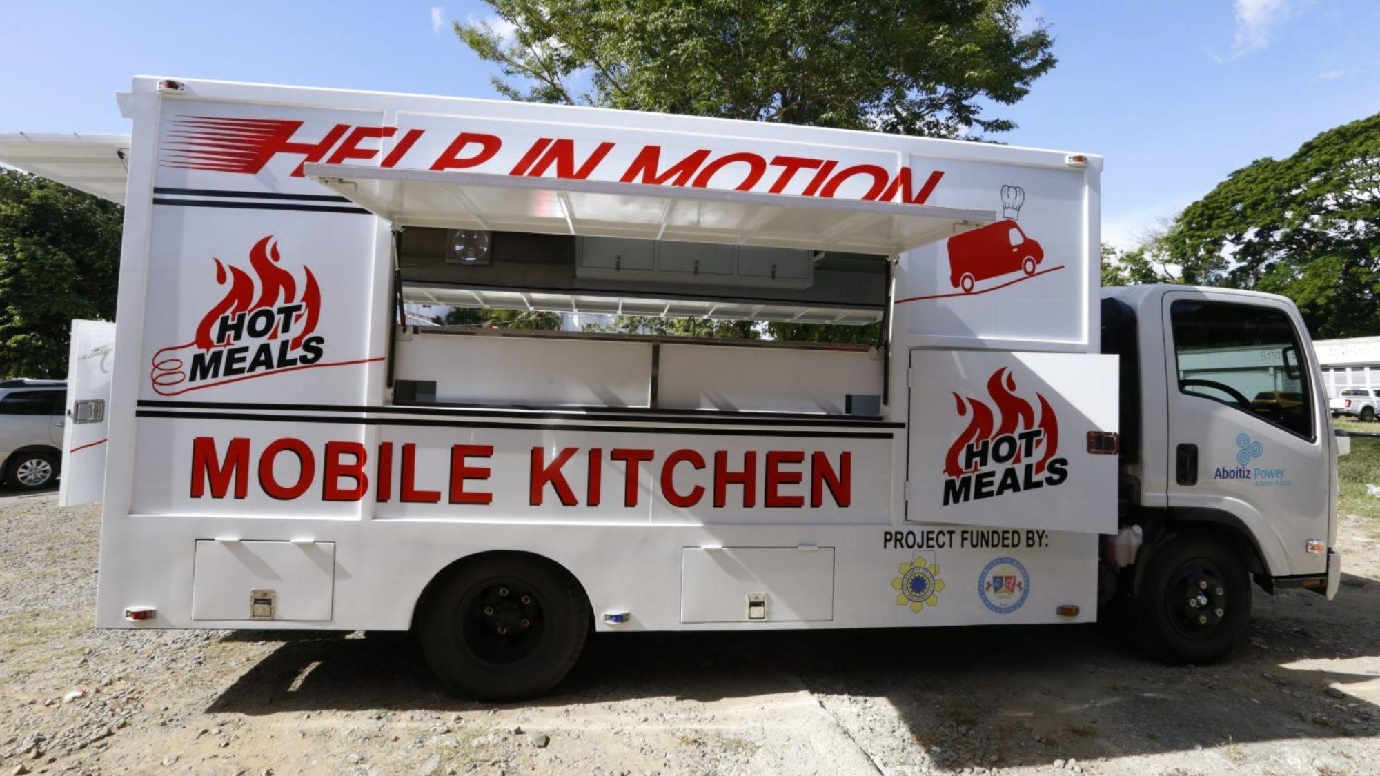 Mobile community kitchen, inilunsad sa Batangas
