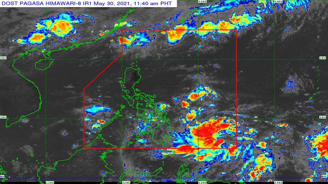 'Dante' enters PAR; public warned of thunderstorms in Mindanao