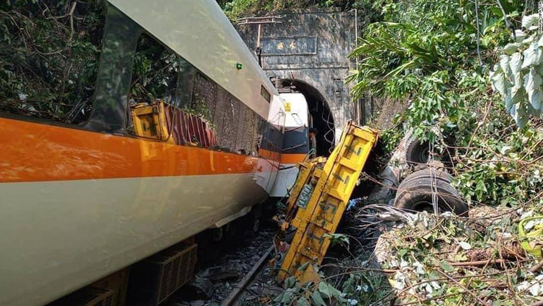 50 killed, 156 injured in Taiwan's Good Friday freak train crash