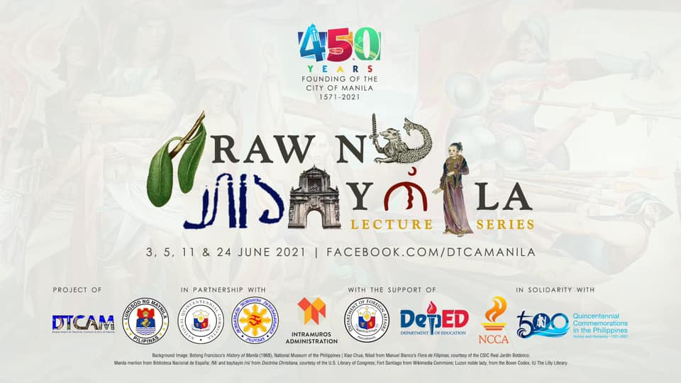 Manila's 450th anniversary features free online lectures