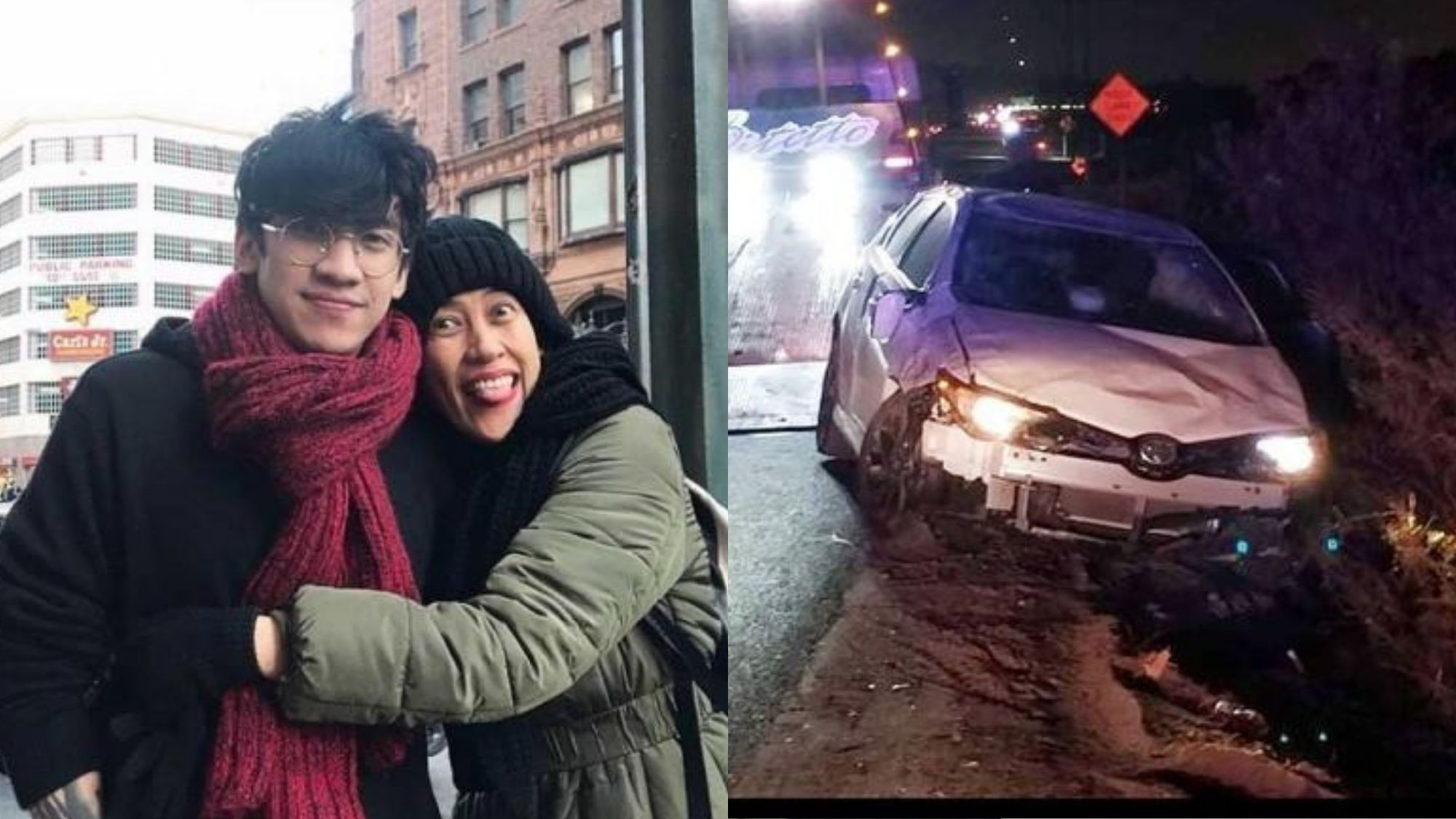 Miracle from God; Ai Ai thankful as son Nicolo unschated after car crash edited by opinyon