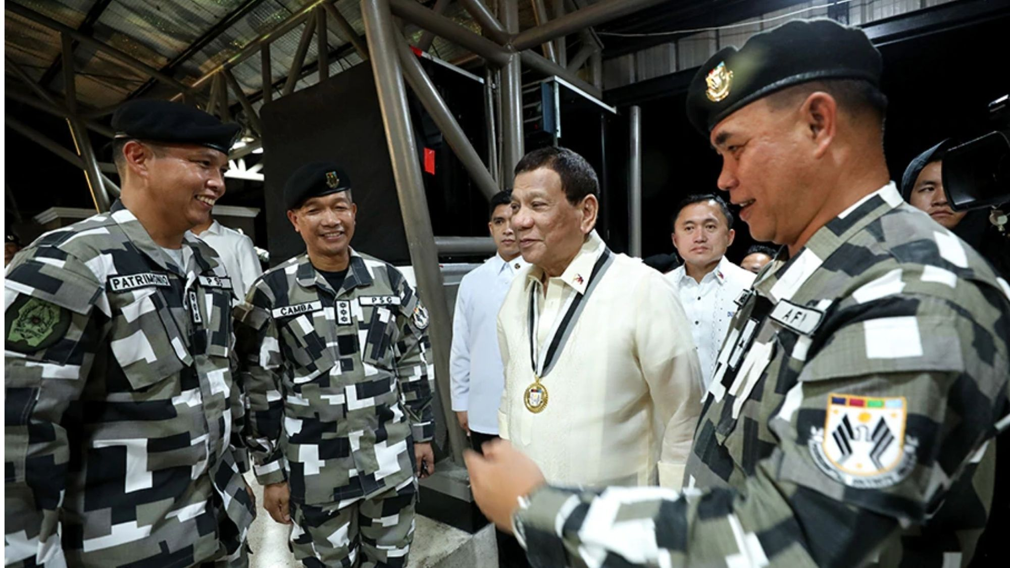 126 PSG men contract Covid-19; prompts Digong to make himself scarce