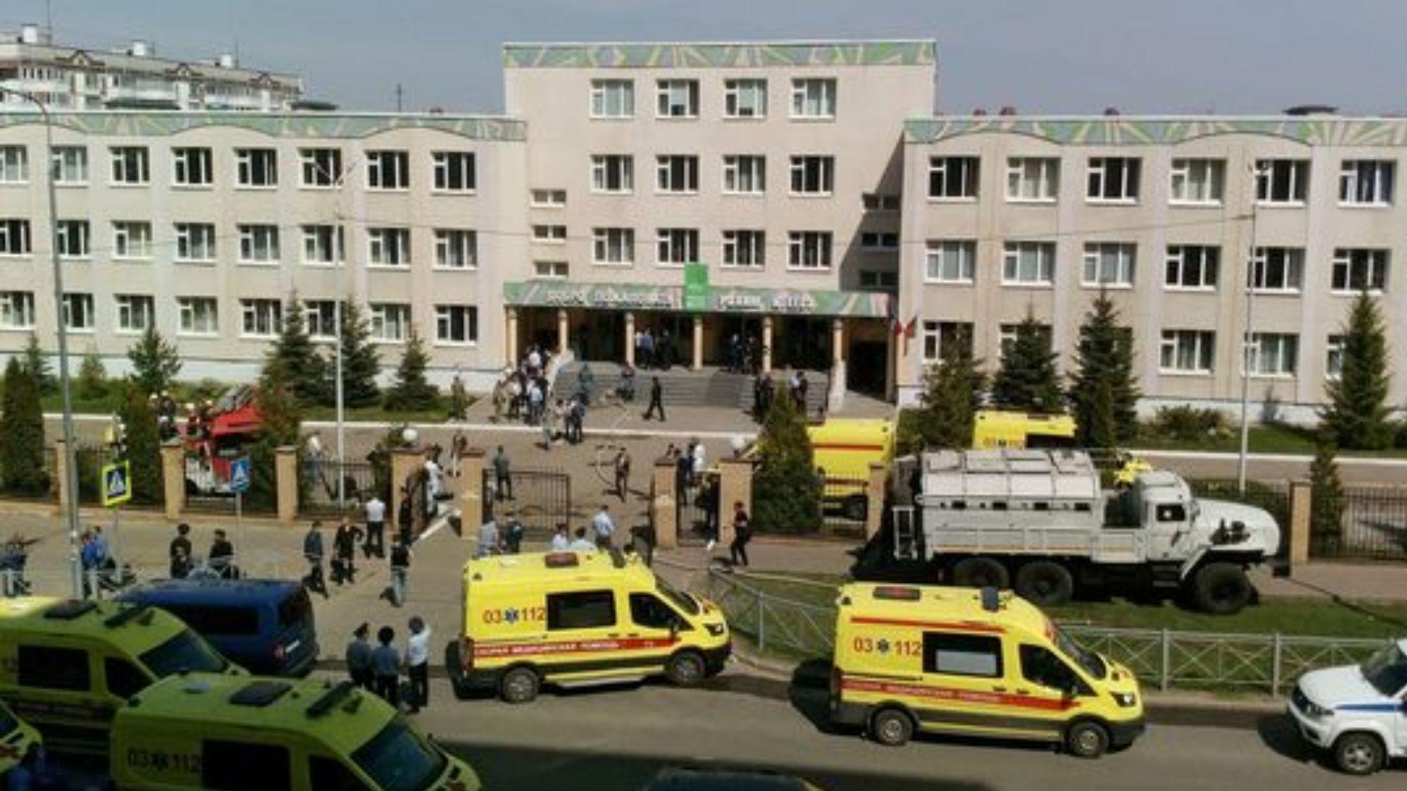 7 children killed in school shooting in Russia