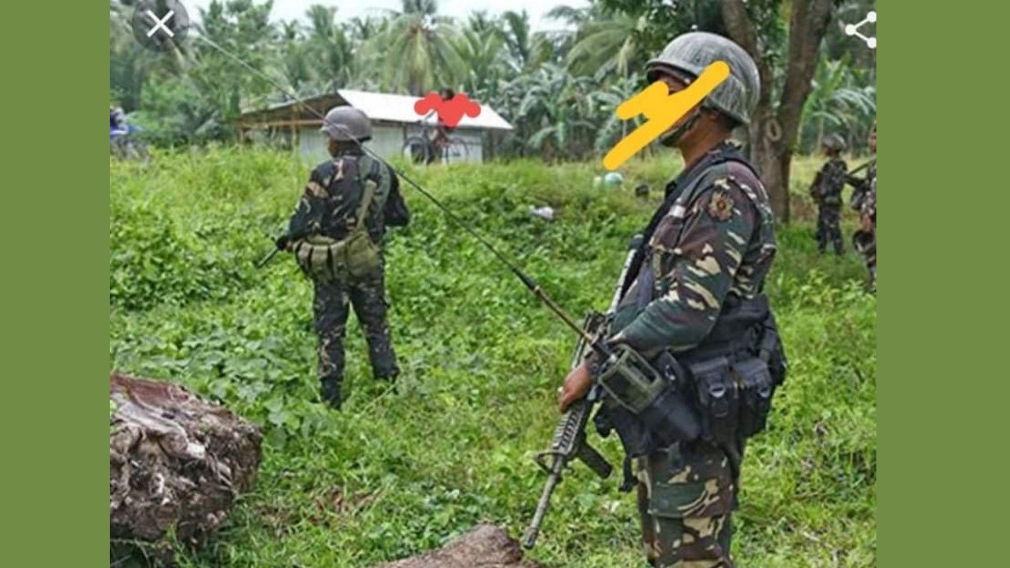 NPA rebels suffer heavy loss in a firefight in E. Samar
