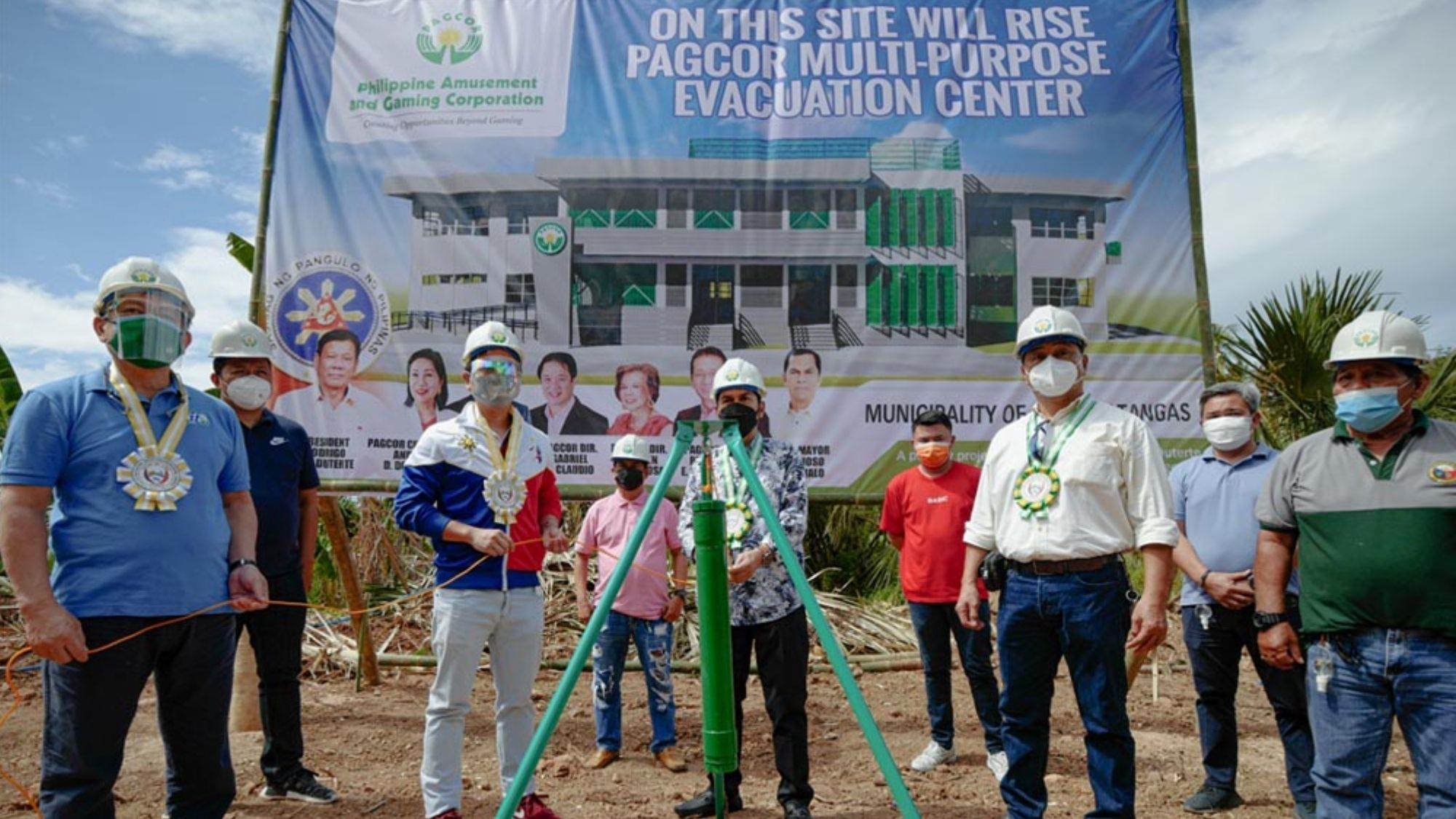 Pagcor-funded evacuation center to rise in San Pablo City
