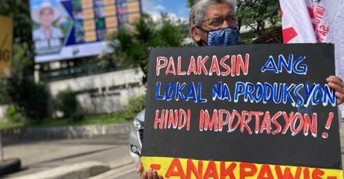 Food dialogue ng DA, binansagang kapulungan ng bureaucrats photo from KMP, facebook