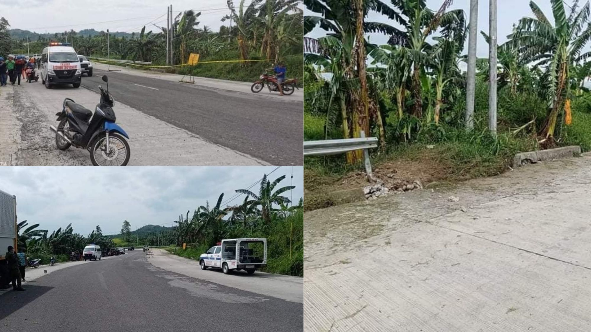 Close brush with disaster; Calbayog vaccine convoy narrowly misses landmine photo from Opinyon 8