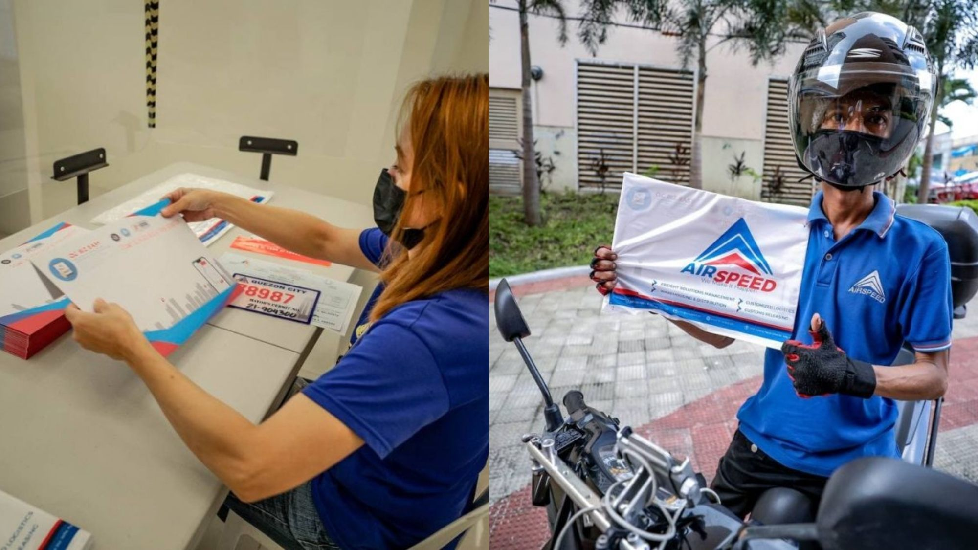 QC gov't starts 'door-to-door' delivery of business permits photo from Quezon City Government