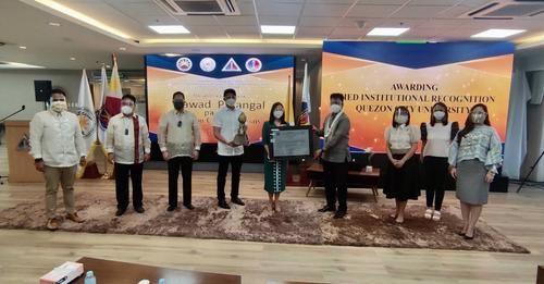 CHED grants Quezon City University institutional recognition