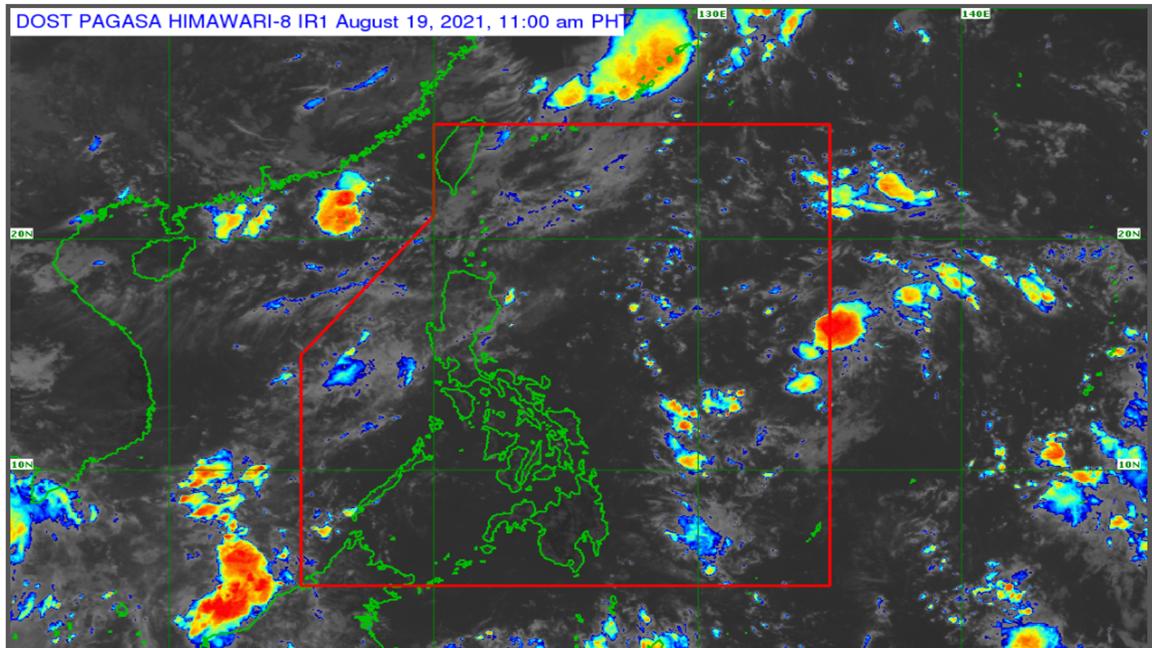Pagasa 'Isang' will not affect PH photo from Dost_pagasa