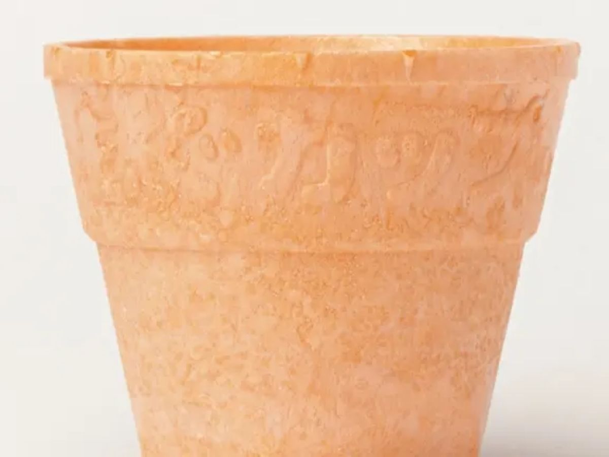 The cup, resembling an ice cream cone